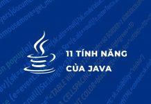 Tính năng của Java