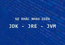Sự Khác nhau giữa JDK, JRE và JVM