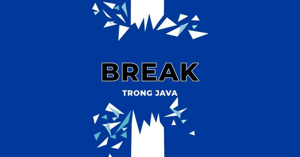 Tìm hiểu về Break trong Java qua ví dụ