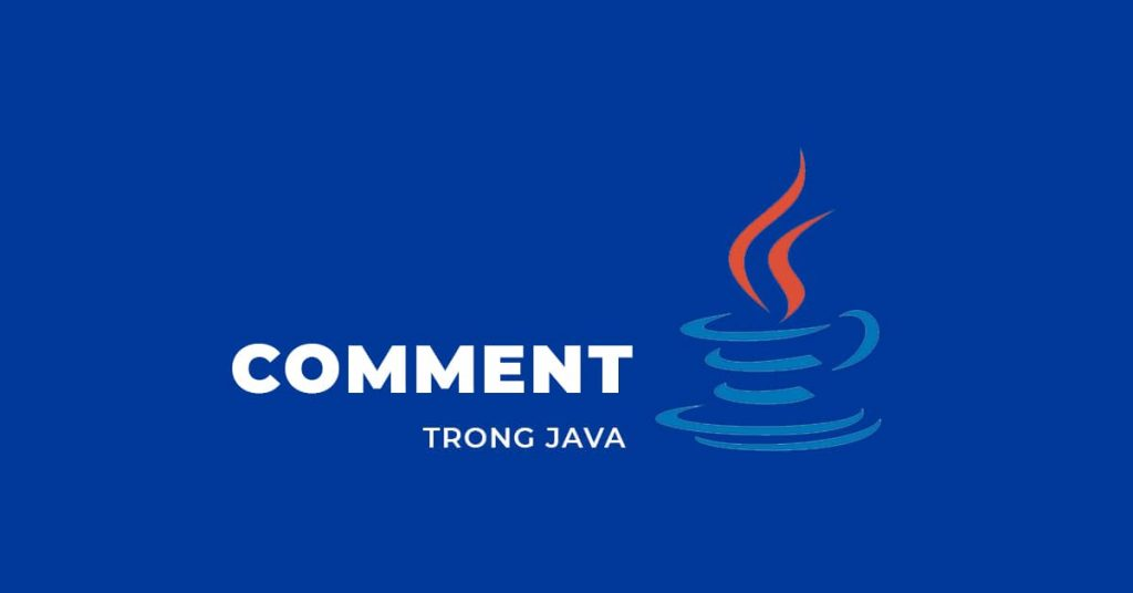 Comment trong Java